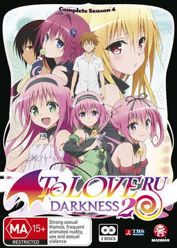 To-Love-Ru: Darkness 2nd Complete Seaoson 4 (Subtitled Edition)