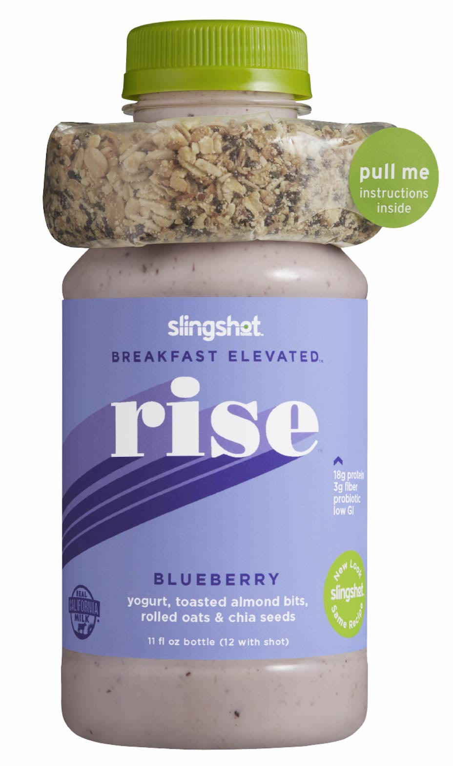 Rise Fresh Meal Replacement, Blueberry, 6 Pack (12 oz each)