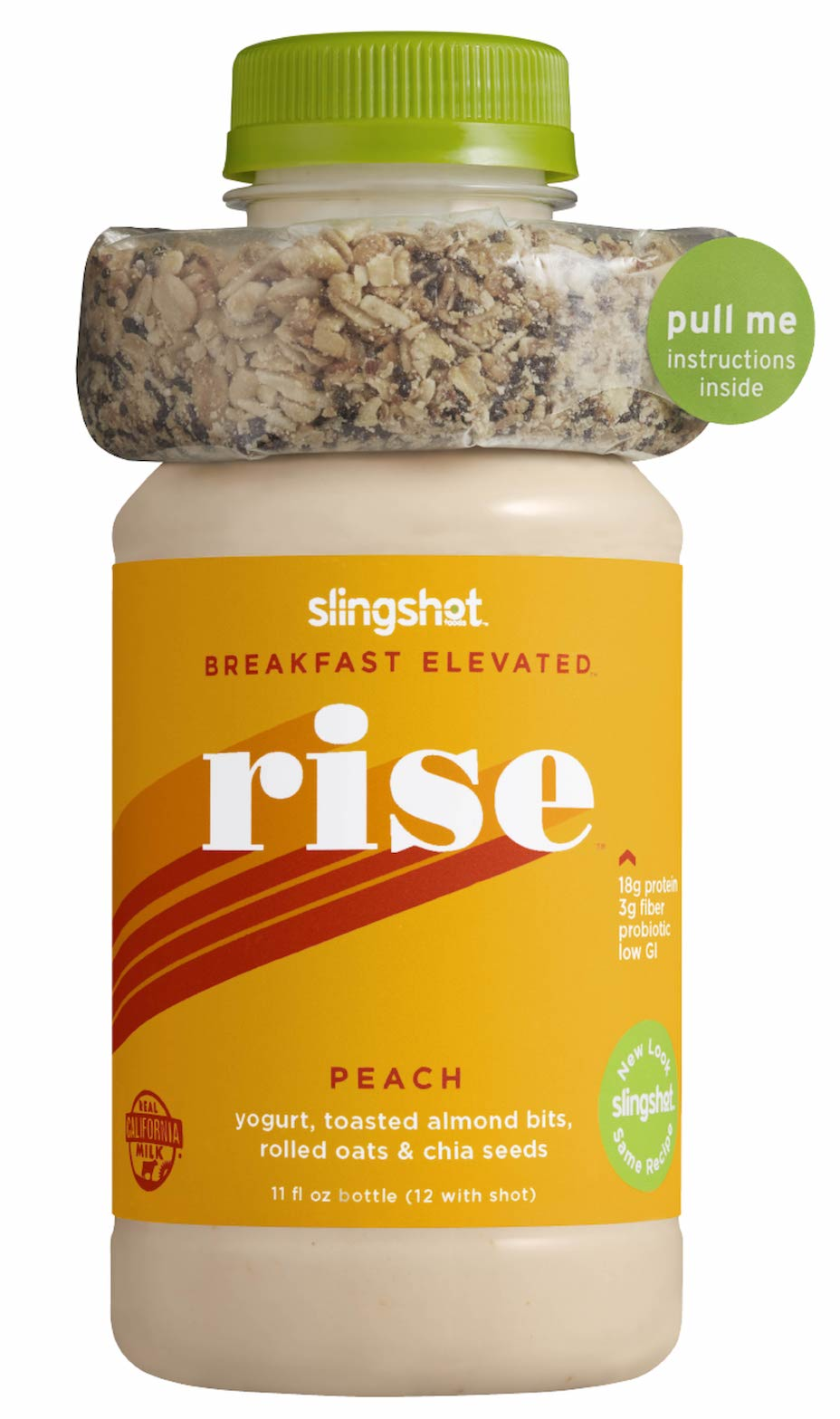 Rise Fresh Meal Replacement, Peach, 6 Pack (12 oz each)