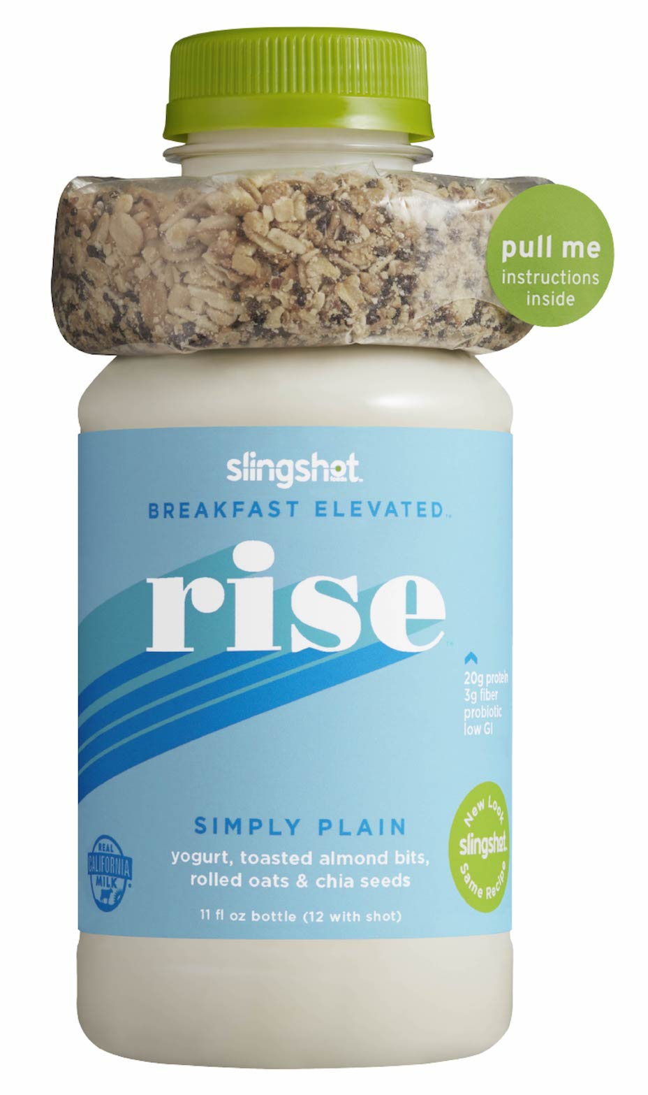 Rise Fresh Meal Replacement, Simply Plain, 6 Pack (12 oz each)
