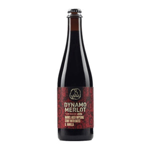 8 WIRED BREWING - DYNAMO 2018 (merlo barrel aged imperial stout)