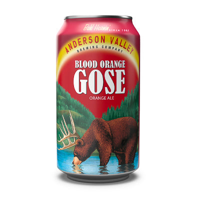 ANDERSON VALLEY BREWING CO - BLOOD ORANGE GOSE (sour ale)