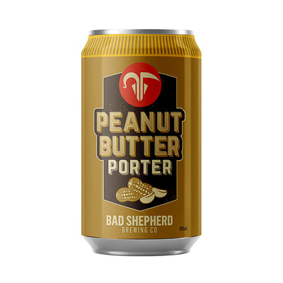 BAD SHEPHERD BREWING CO - PEANUT BUTTER PORTER