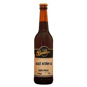 BACCHUS BREWING CO - BALT ACTION II (baltic porter)