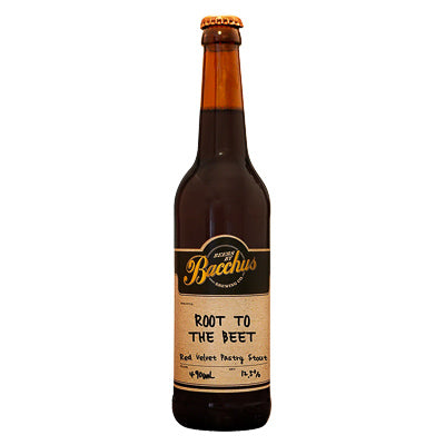 BACCHUS BREWING CO - ROOT TO THE BEET (10th Anniversary Pastry Stout)