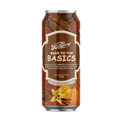 THE BRUERY - BACK TO THE BASICS (Imperial stout)