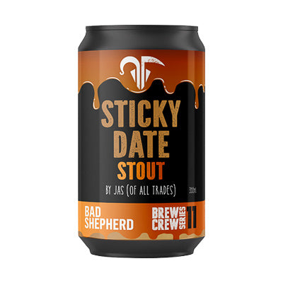 BAD SHEPHERD BREWING CO - STICKY DATE STOUT (milk stout)