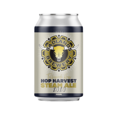 BADLANDS BREWERY - HOP HARVEST STEAM ALE