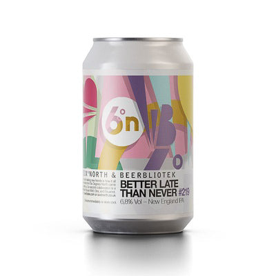 BEERBLIOTEK x SIXº NORTH - NETTER LATE THEN NEVER (NEIPA)