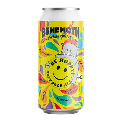 CHUR ( BEHEMOTH ) BREWING CO. - BE HOPPY (Hazy PA)