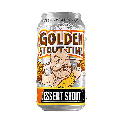 BIG SHED BREWING CONCERN - GOLDEN STOUT TIME