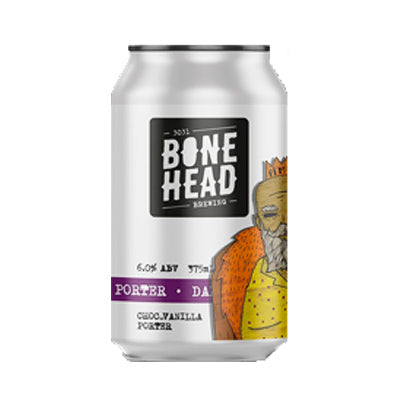 BONEHEAD BREWING - DAD'S PORTER (Chocolate Vanilla Porter)