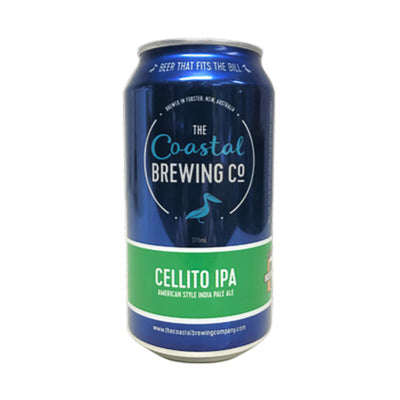 THE COASTAL BREWING CO - CELLITO IPA