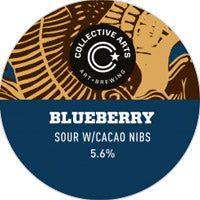 COLLECTIVE ARTS BREWING -  BLUEBERRY SOUR W/ CACAO NIBS (sour)