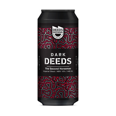 DEEDS BREWING - DARK DEEDS: THE SECOND HORSEMAN IMPERIAL STOUT