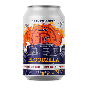 DAINTON BREWERY - BLOODZILLA DOUBLE BLOOD ORANGE NEIPA (NEIPA)