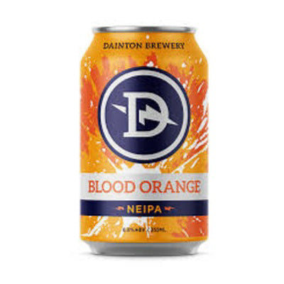 DAINTON BREWERY - BLOOD ORANGE NEW ENGLAND RYE IPA (NEIPA)