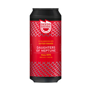 DEEDS BREWING x OUTER RANGE BREWING CO - DAUGHTERS OF NEPTUNE (hazy DIPA)