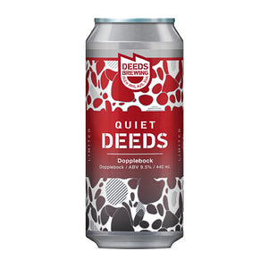 DEEDS BREWING - QUIET DEEDS: DOPPELBOCK (doppelbock)