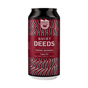 DEEDS BREWING X VENOM BREWING - VIPER PIT (hazy DIPA)