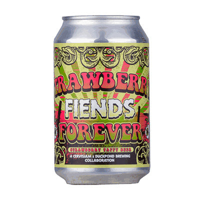 DUCKPOND BREWING x CERVISIAM - STRAWBERRY FIENDS FOREVER (sour gose)