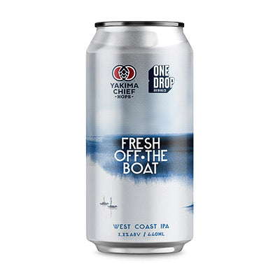 ONE DROP BREWING - FRESH OFF THE BOAT (West Coast IPA)