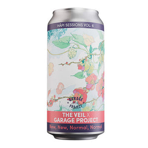GARAGE PROJECT X VEIL BREWING CO - HĀPI SESSIONS- NEW, NEW, NORMAL, NORMAL(Double NEIPA)