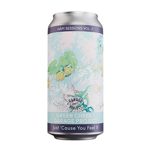 GARAGE PROJECT X GREEN CHEEK BEER CO - HĀPI SESSIONS: JUST 'CAUSE YOU FEEL IT (DIPA)
