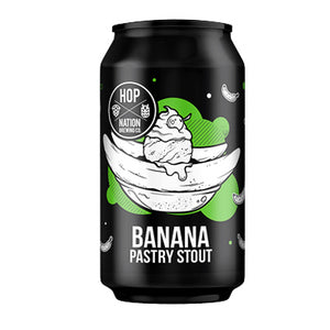 HOP NATION BREWING CO - BANANA PASTRY STOUT (pastry stout)
