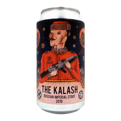 HOP NATION BREWING CO - THE KALASH 2020 (Russian imperial stout)