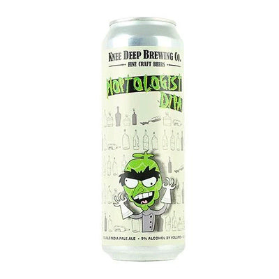 KNEE DEEP BREWING CO - HOPTOLOGIST (Double IPA)