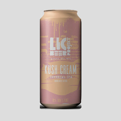 LIC BEER PROJECT - KUSH CREAM (Double IPA)