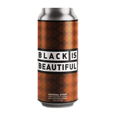 LEFT HANDED GIANT BREWING  - BLACK IS BEAUTIFUL (Imperial Stout)