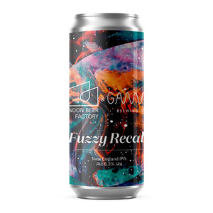 LONDON BEER FACTORY x GAMMA BREWING - FUZZY RECALL (NEIPA)