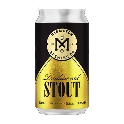MISMATCH BREWING CO. - TRADITIONAL STOUT