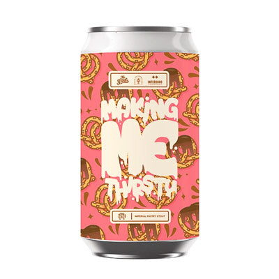 MR BANKS BREWING CO. - MAKING ME THIRSTY (Imperial Pastry Stout)