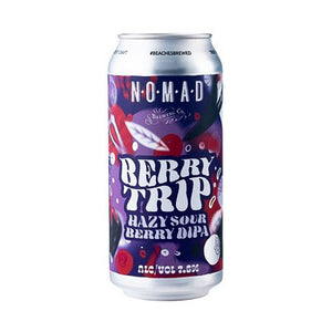 NOMAD BREWING - BERRY TRIP (Double IPA)