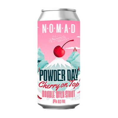 NOMAD BREWING - POWDER DAY CHERRY ON TOP (Double Milk Stout)