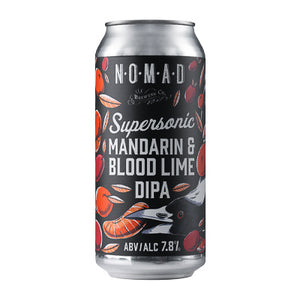 NOMAD BREWING - MANDARIN & BLOOD LIME (Double IPA)
