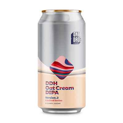 ONE DROP BREWING - DDH OAT CREAM DIPA v.2 (double NEIPA)