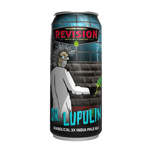 REVISION BREWING CO - DR. LUPULIN 3x (Triple IPA)