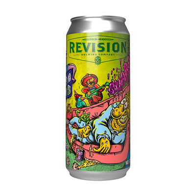 REVISION BREWING CO - QUARANTINE DREAMS (Double NEIPA)