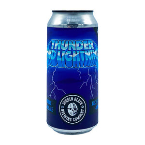 SUDDEN DEATH BREWING - THUNDER AND LIGHTNING (Double NEIPA)