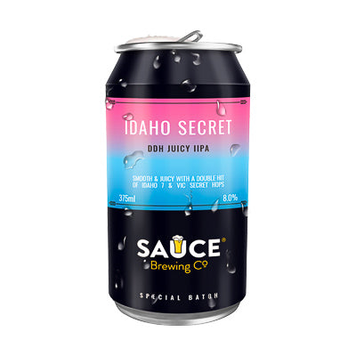 SAUCE BREWING CO -  IDAHO SECRET (DDH juicy IIPA)