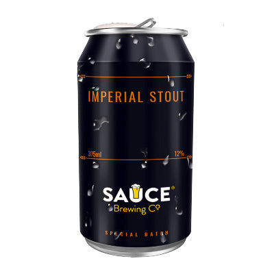 SAUCE BREWING CO - IMPERIAL STOUT (2020)