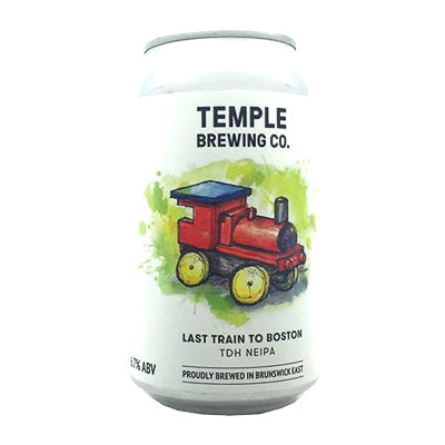 TEMPLE BREWING CO. - LAST TRAIN TO BOSTON (NEIPA)