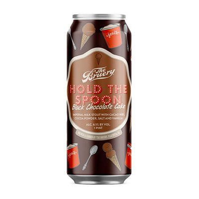 THE BRUERY - HOLD THE SPOON: BLACK CHOCOLATE CAKE STOUT (Imperial pastry stout)