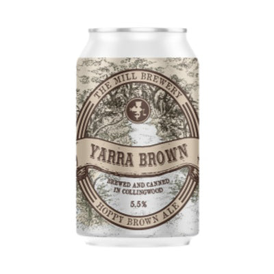 THE MILL BREWERY - YARRA BROWN (brown ale)