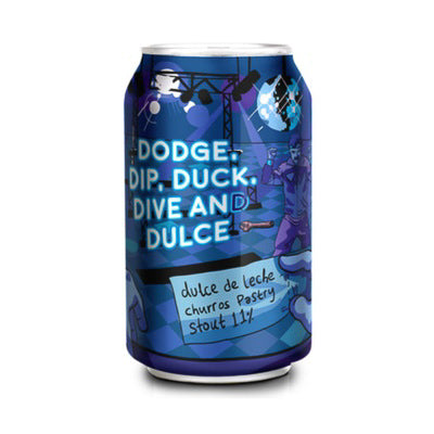 TINY REBEL BREWING - DODGE, DIP, DUCK, DIVE AND DULCE (pastry stout)