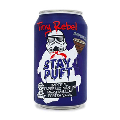 TINY REBEL BREWING - STAY PUFT IMPERIAL ESPRESSO MARTINI (imperial marshmallow porter)